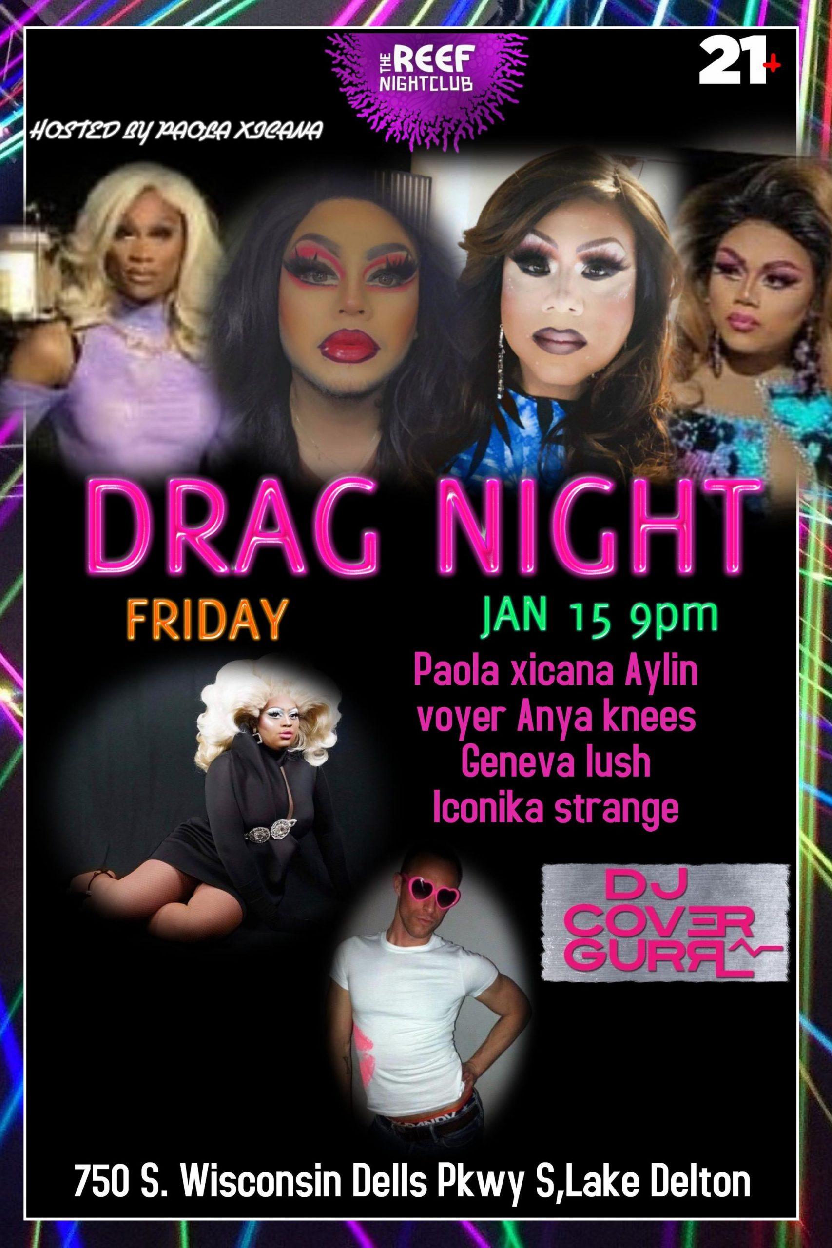 Drag Night at The Reef Night Club
