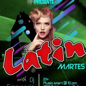 Latin Night at The Reef Night Club