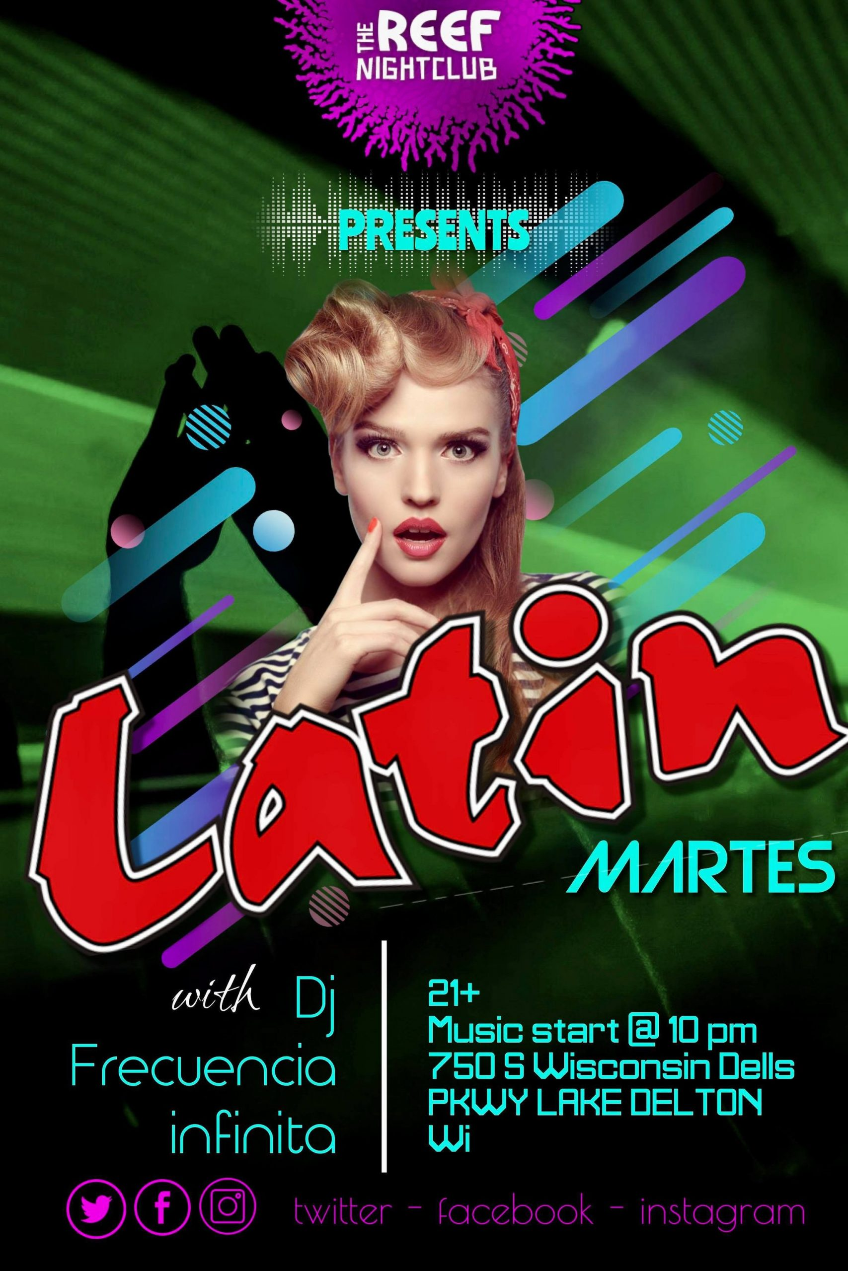 Latin Night at The Reef Night Club