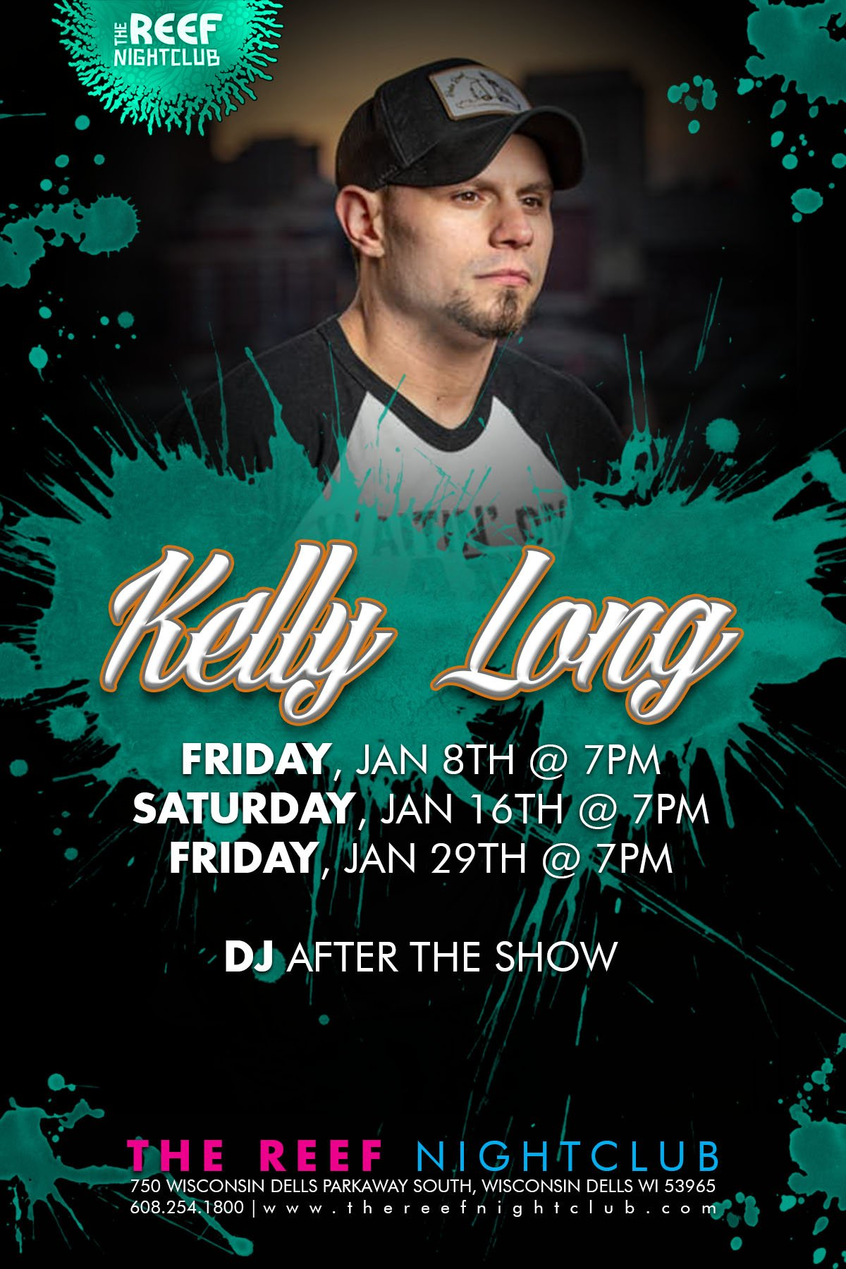Kelly Long Live The Reef Night Club