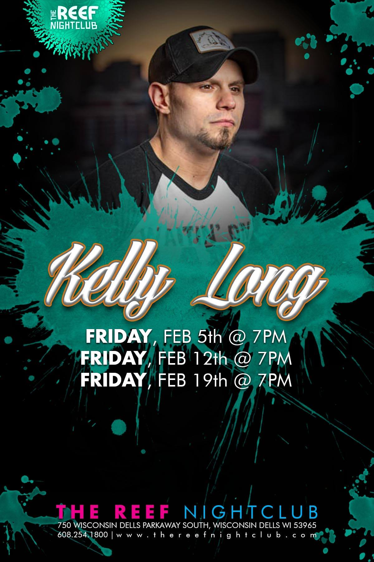 Kelly Long Live at The Reef Night Club
