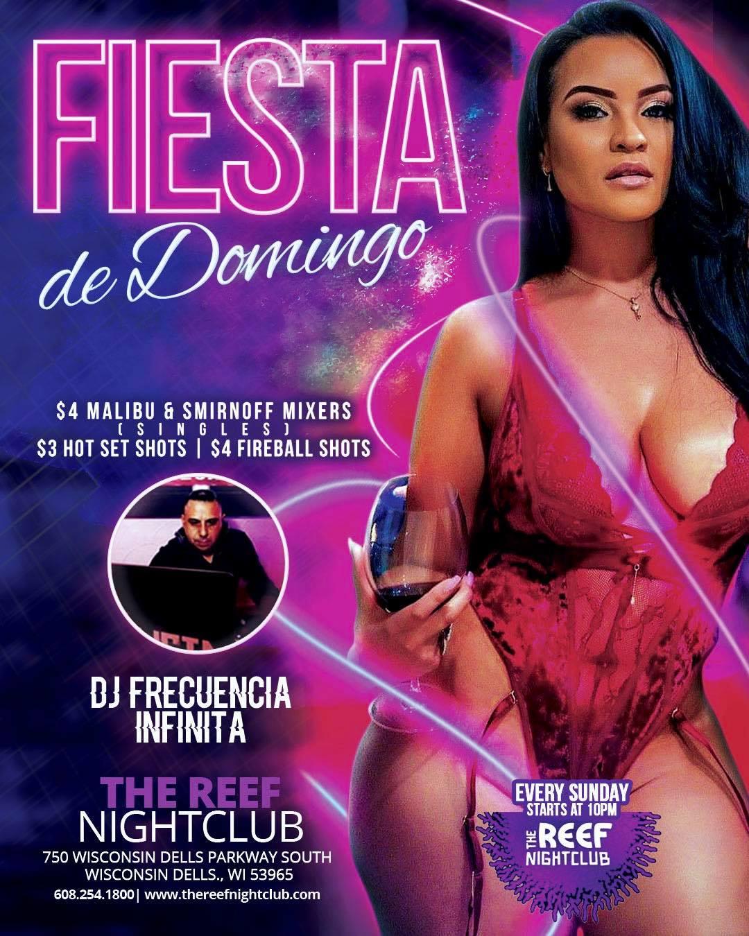 The Reef Night Club Sunday Latin Nights